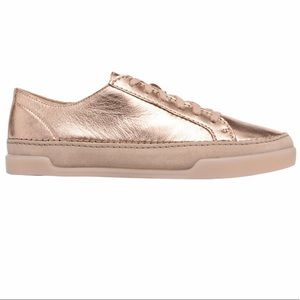 Clarks Hidi Holly Rose Gold Sneakers 7.5